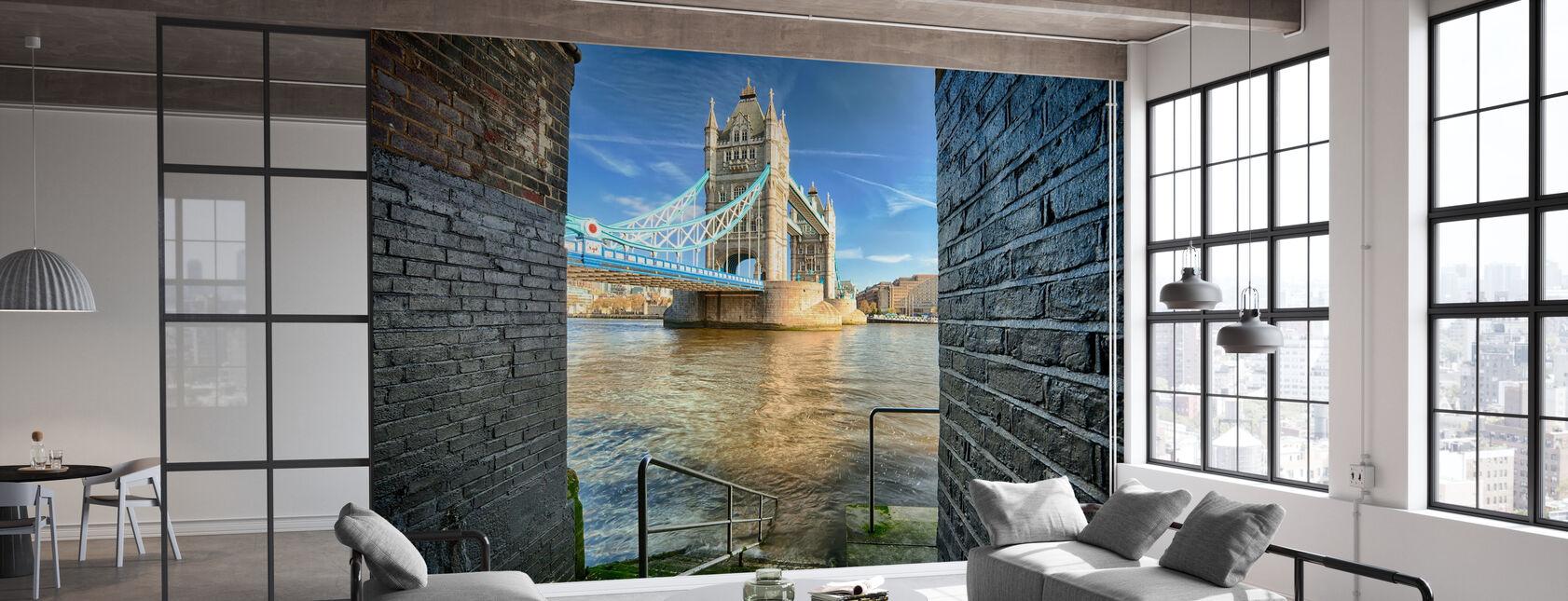 Alternative View on Tower Bridge - Wallpaper - Office