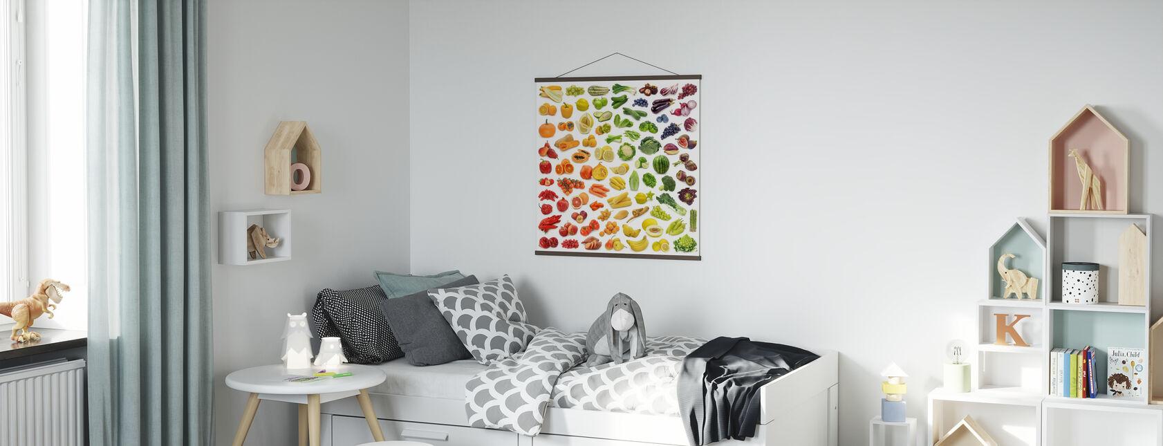 Saftige Früchte - Poster - Kinderzimmer