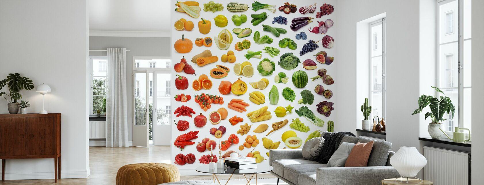 Juicy Fruits - Wallpaper - Living Room