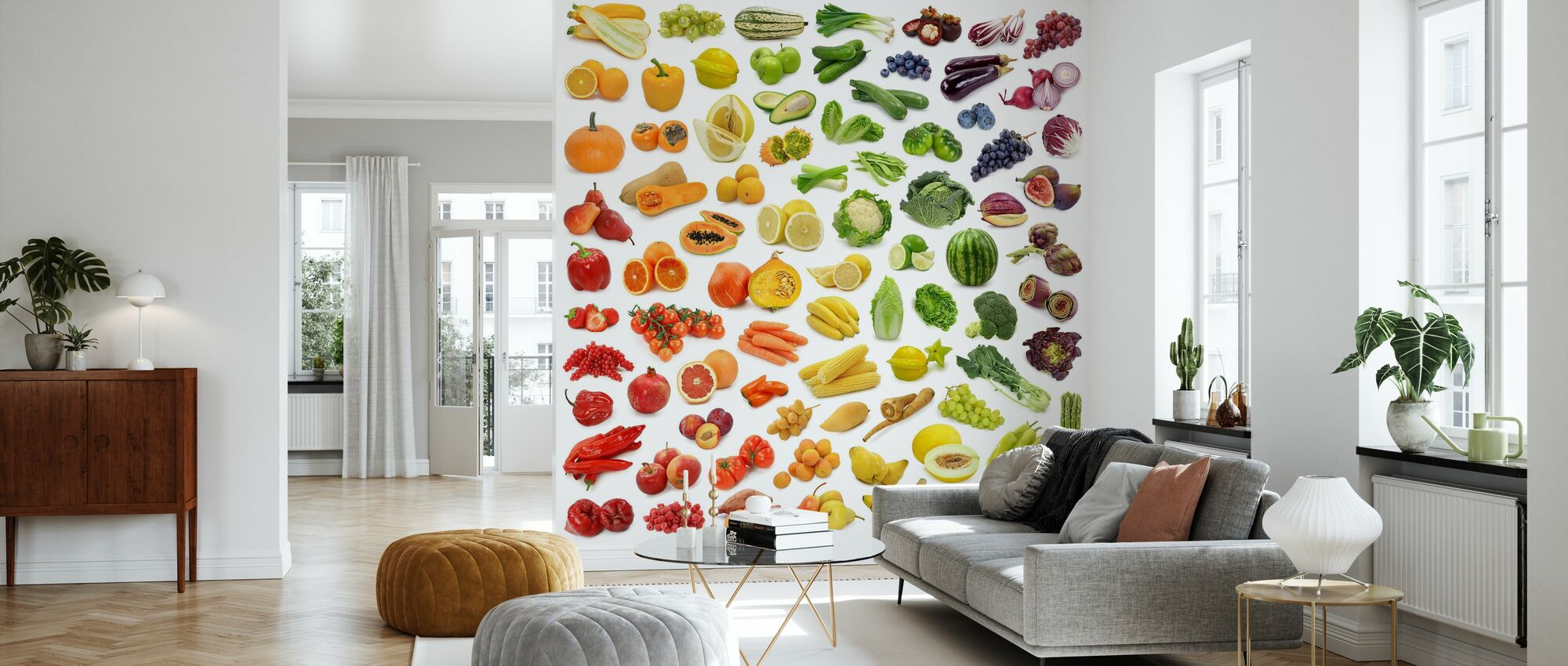 Juicy Fruits - Wallpaper - Living Room