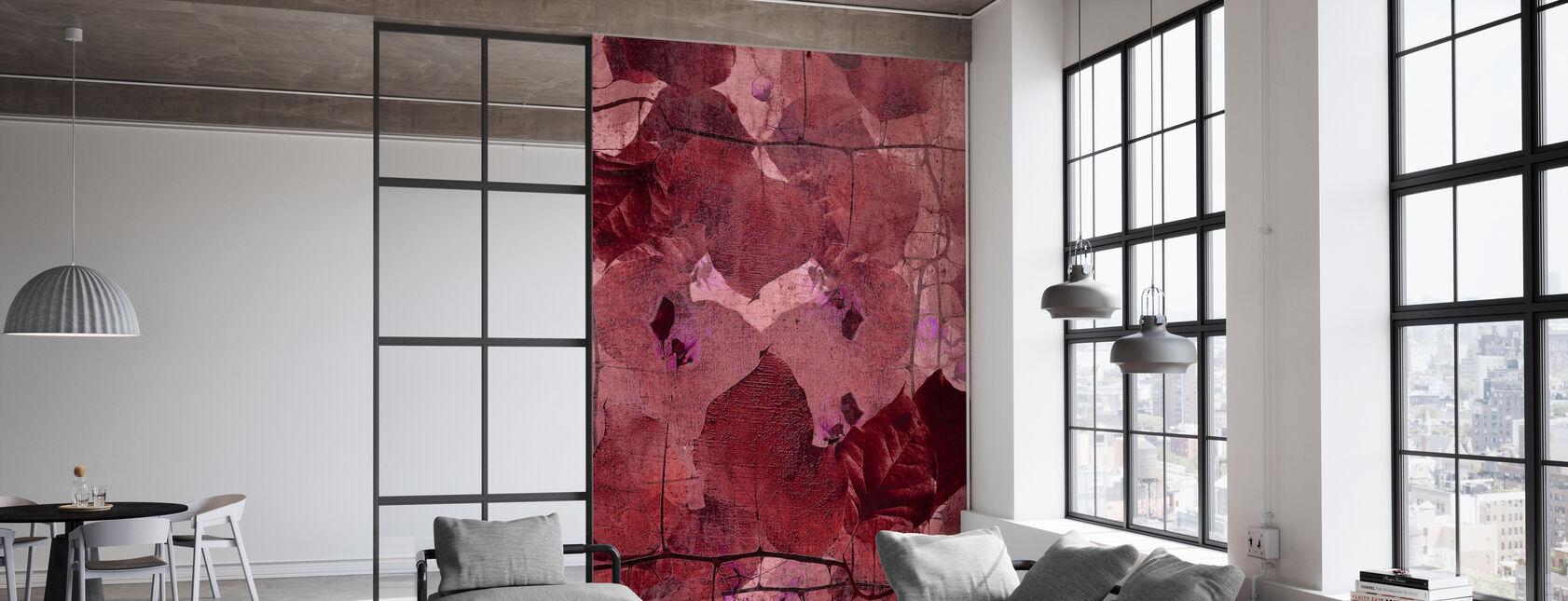 Vigne Bordeaux - Papier peint - Bureau