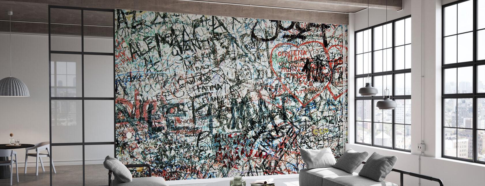 Muro de los enamorados - Papel pintado - Oficina