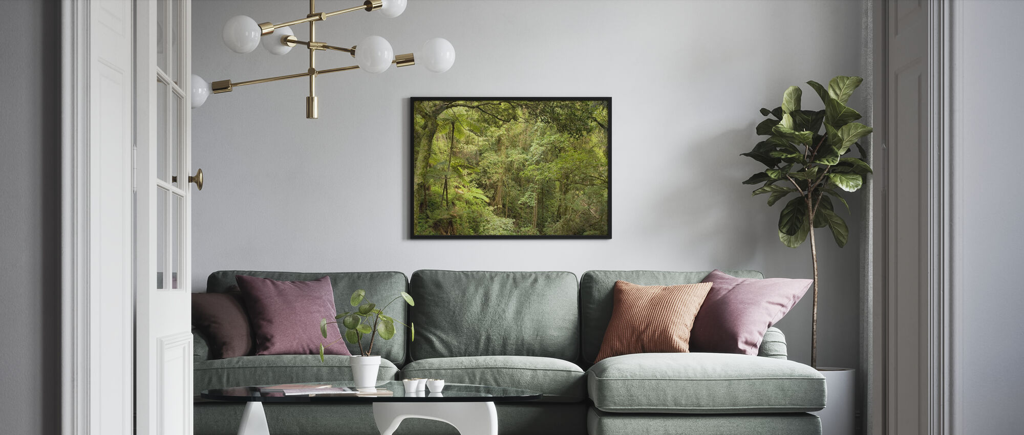 Bunya Mountains National Park - Framed print - Living Room