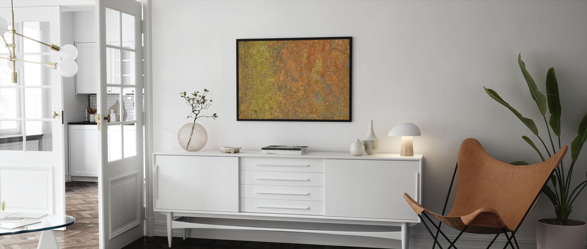 Metal Oxidation - Framed print - Living Room