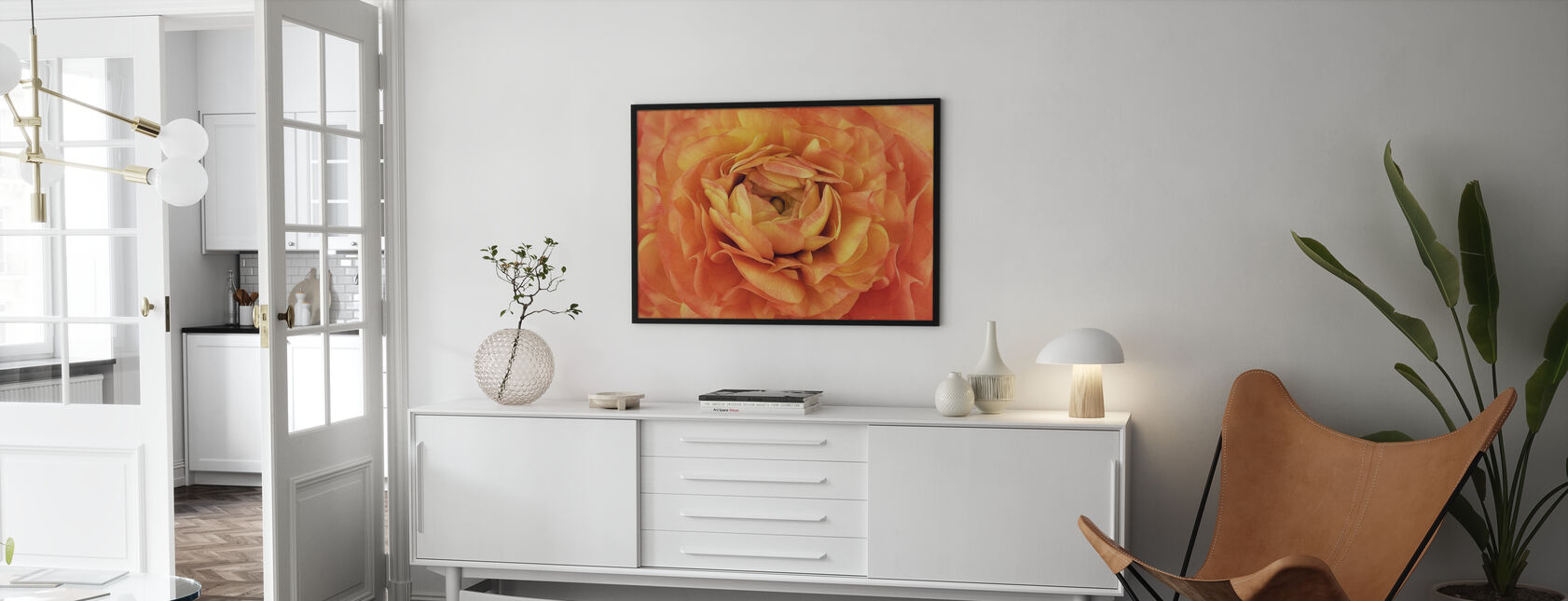 Orange Buttercup - Poster - Living Room