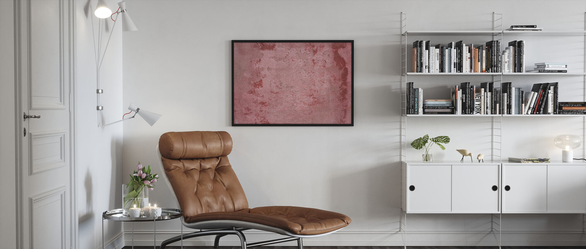 Rusty Patched Plate - Poster - Living Room