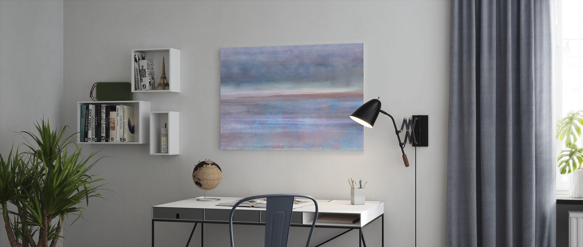 Tidal Flat - Canvas print - Office