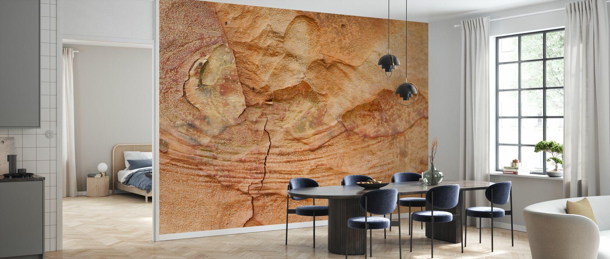Wood Bark - Wallpaper - Kitchen