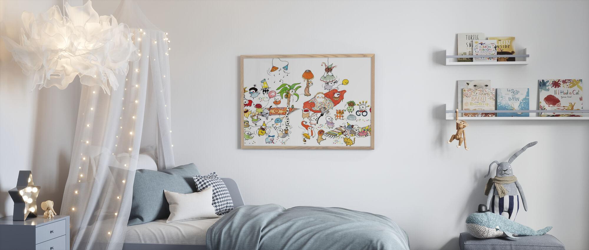 Fest XL - Framed print - Kids Room