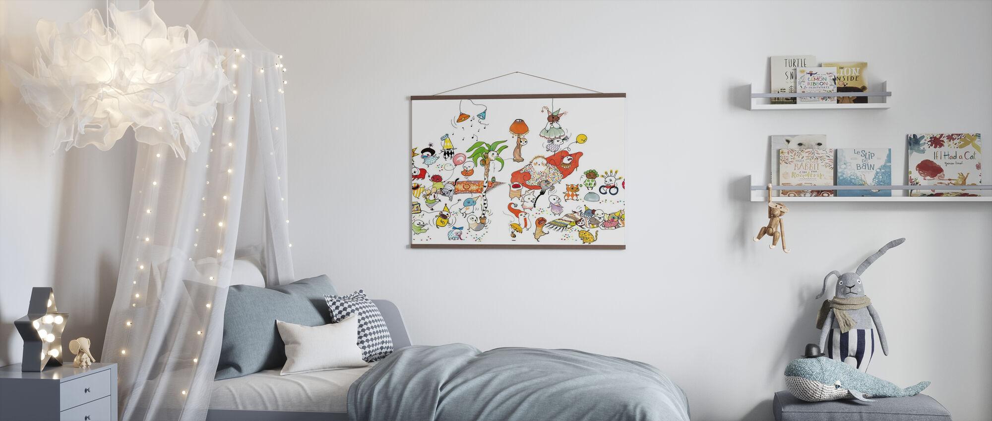 Fisso XL - Poster - Camera dei bambini