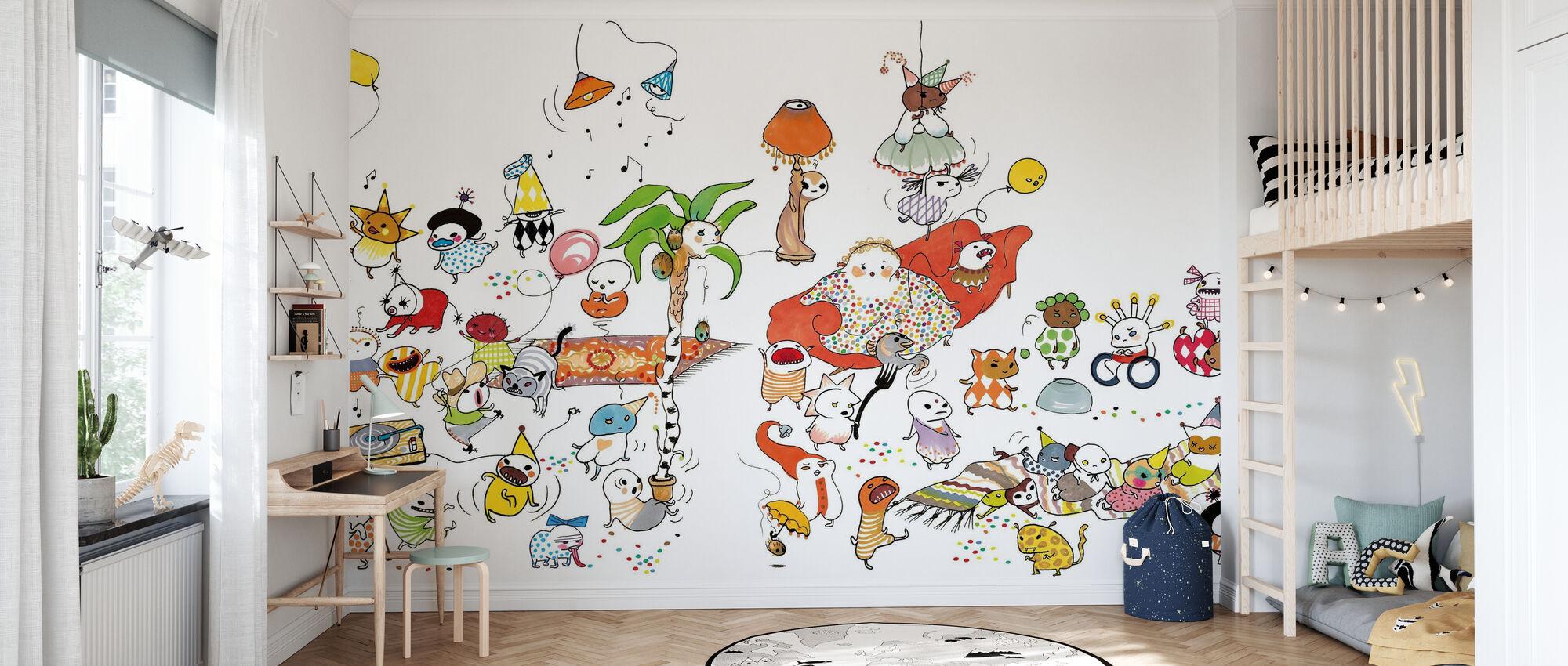 Fest XL - Wallpaper - Kids Room