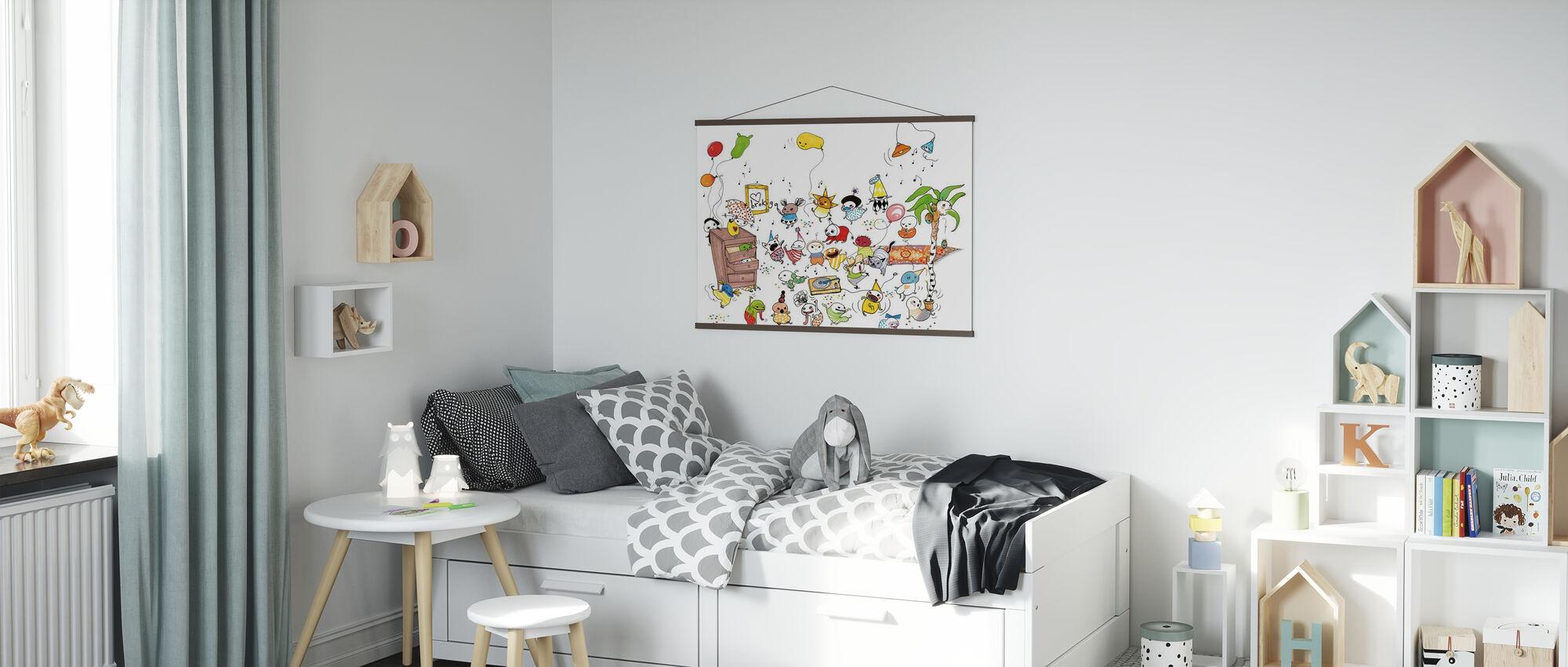 Festa - Poster - Camera dei bambini