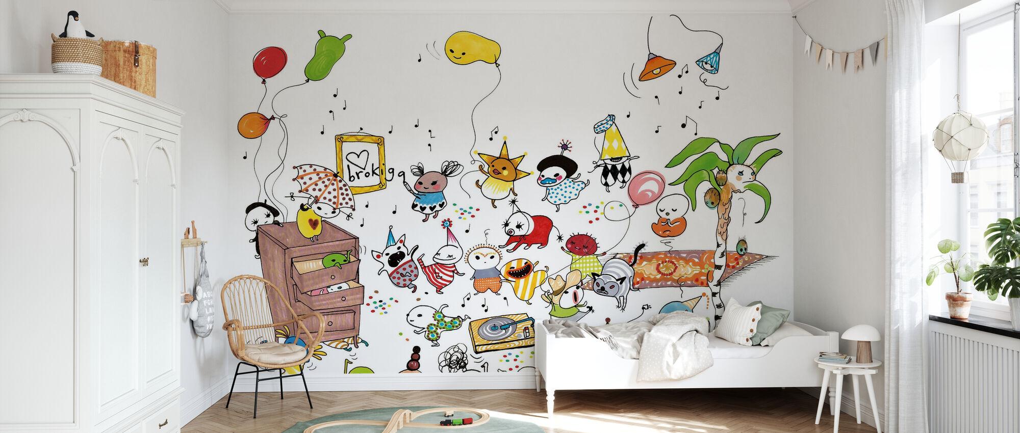Fest - Wallpaper - Kids Room