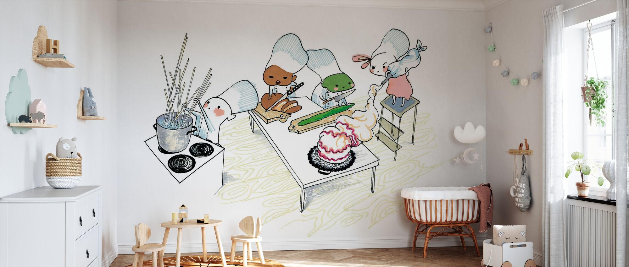 Kitchen - Wallpaper - Nursery