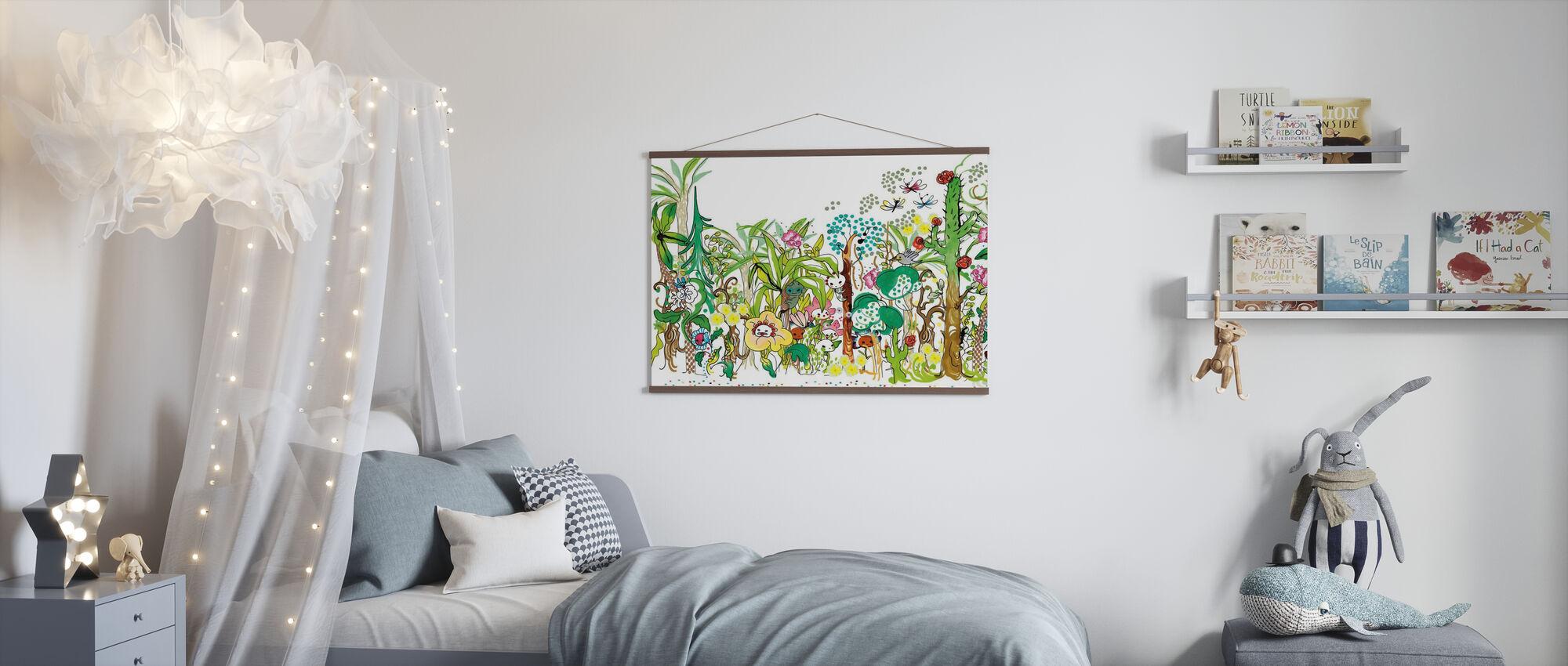 Foresta - Poster - Camera dei bambini