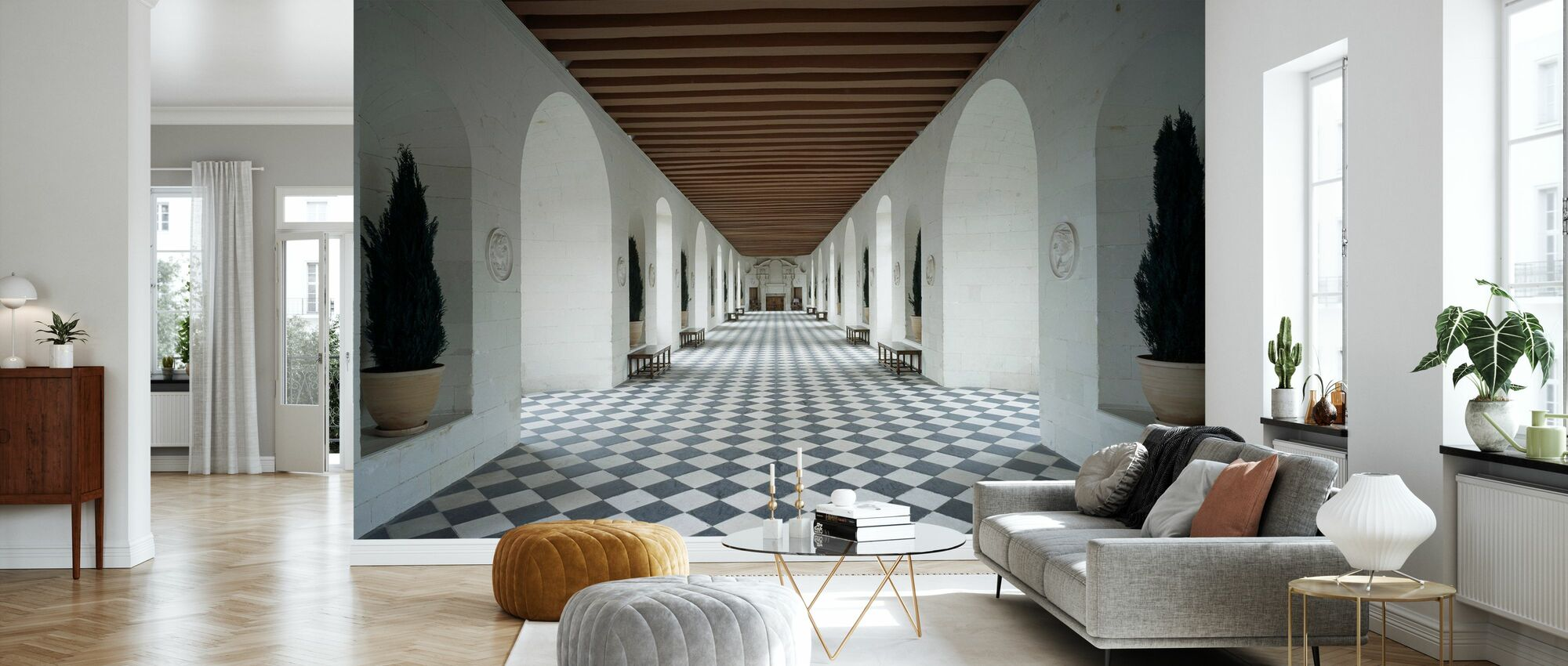 Castle of Chenonceaux - Wallpaper - Living Room