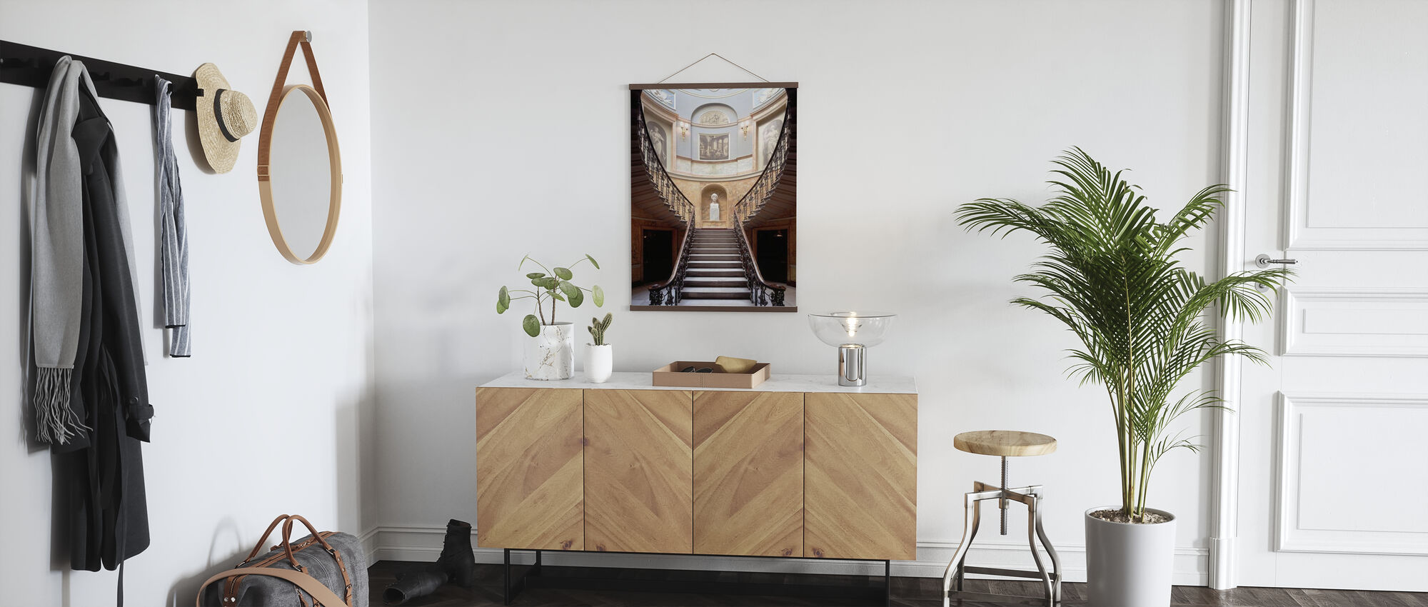 Residential Stairway - Poster - Hallway