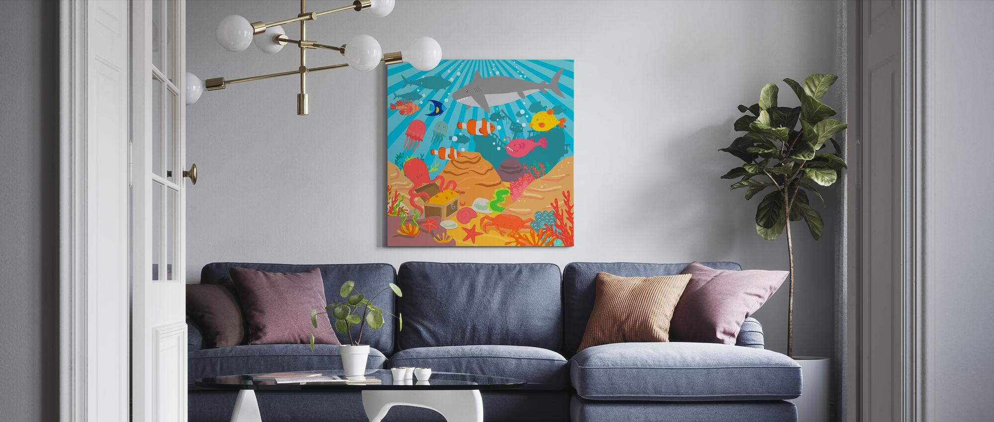 Ocean Adventure - Canvas print - Living Room