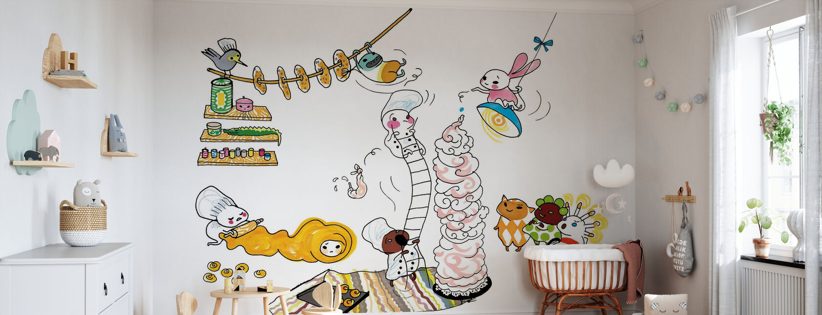 afterlife - Wallpaper - Nursery