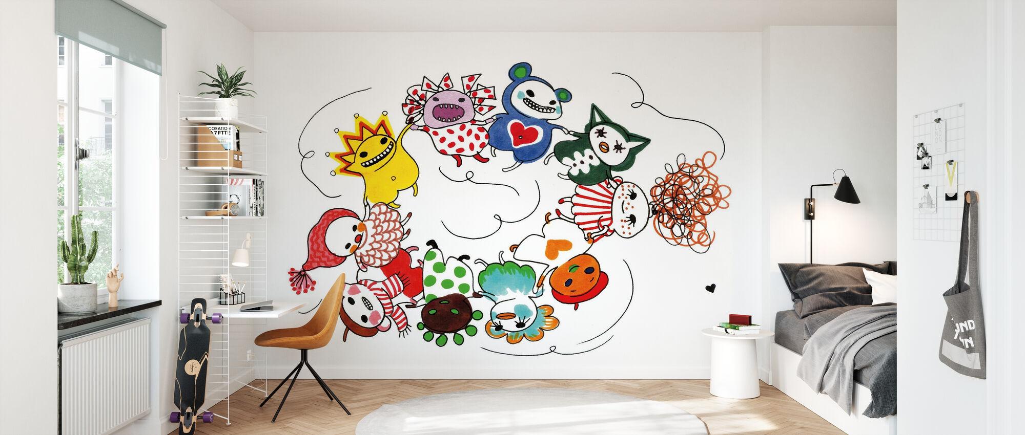 Dansa - Wallpaper - Kids Room