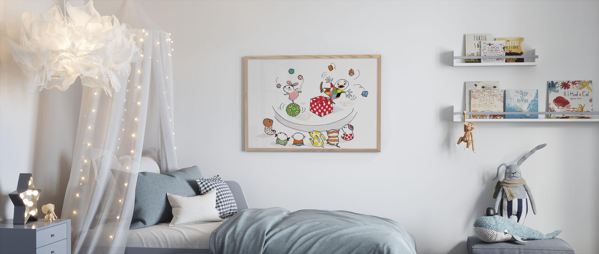 Jonglera - Framed print - Kids Room