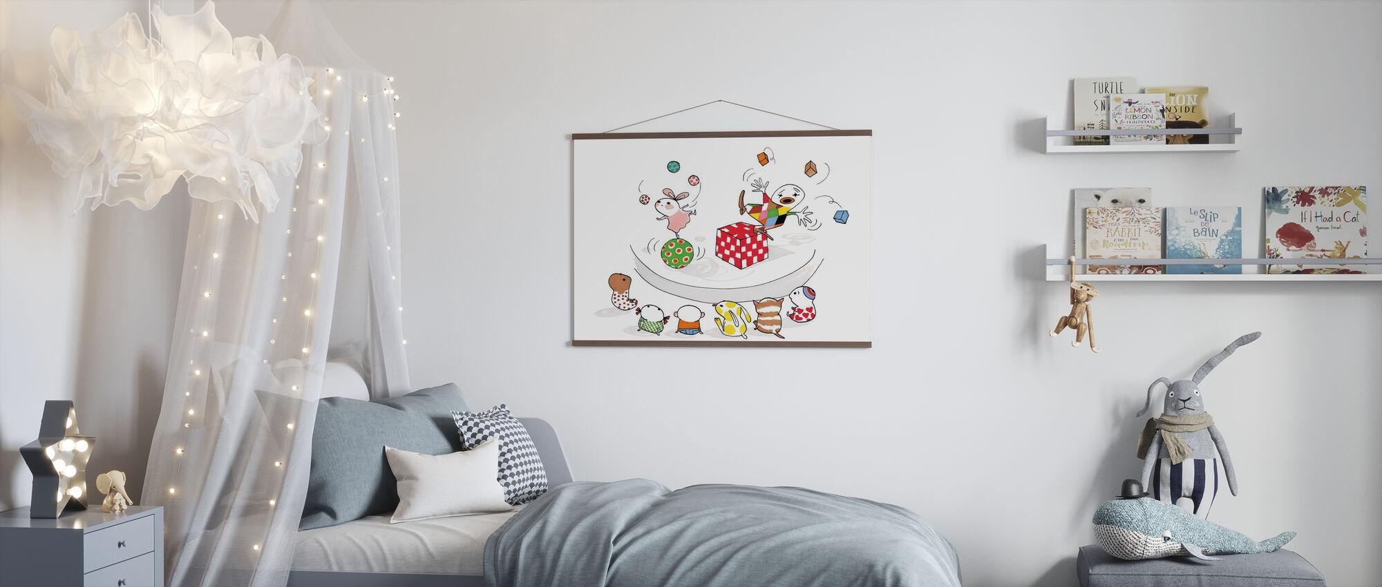 Jonglera - Poster - Camera dei bambini