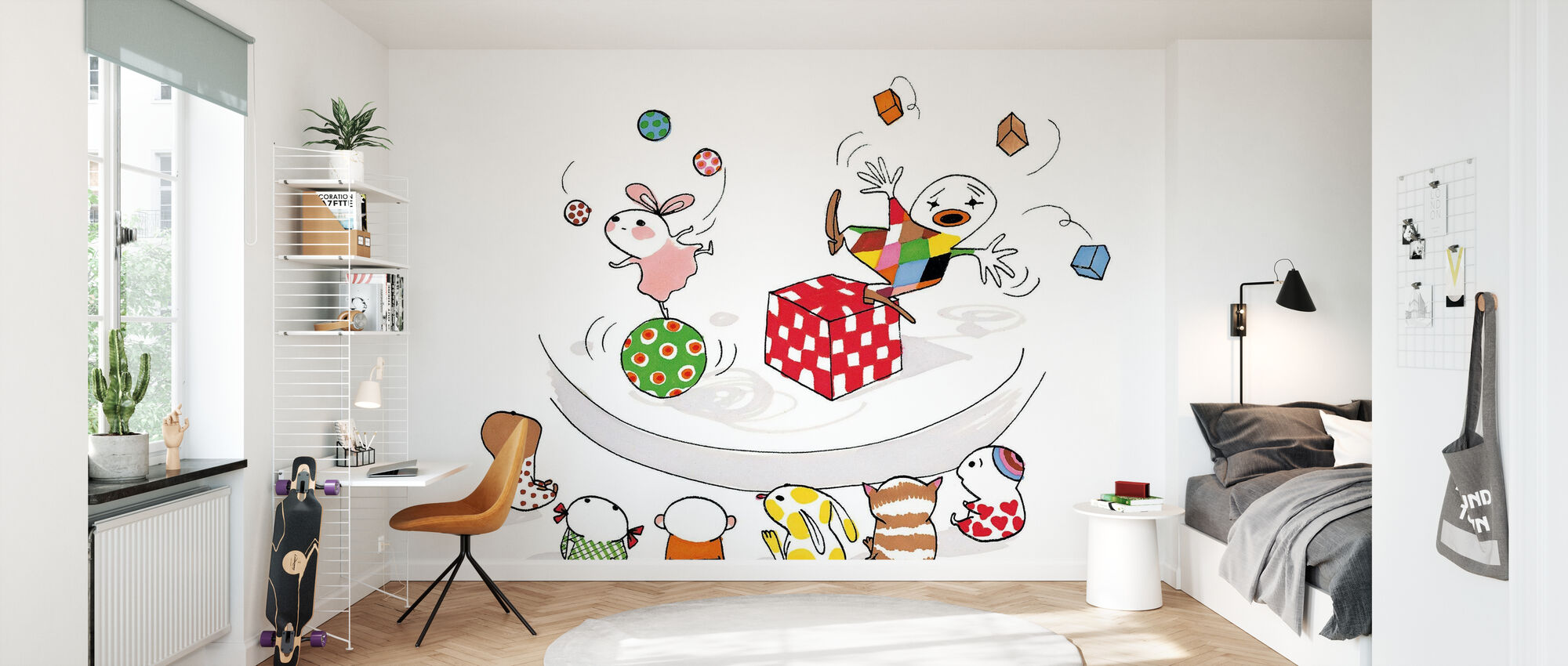Jonglera - Wallpaper - Kids Room