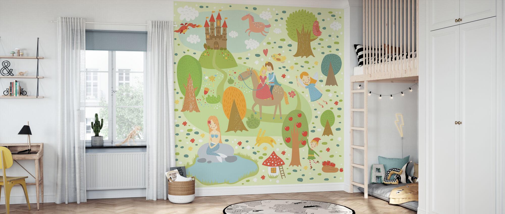 Fairy Tale XL - Wallpaper - Kids Room