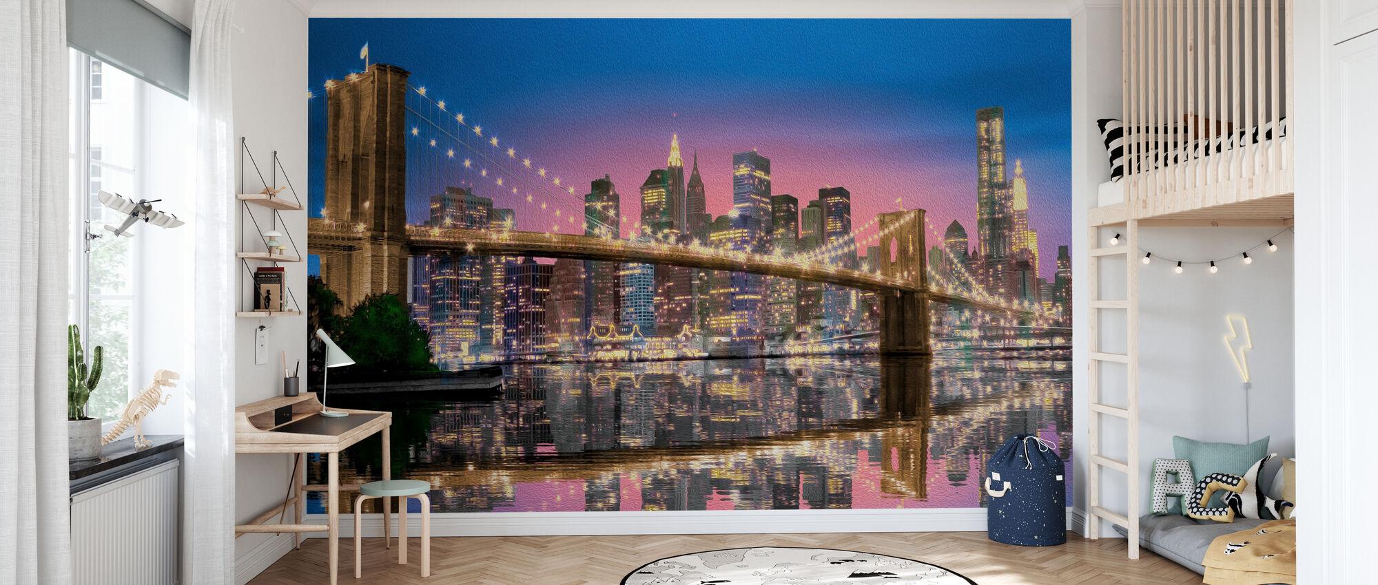 New York - Tapet - Barnrum