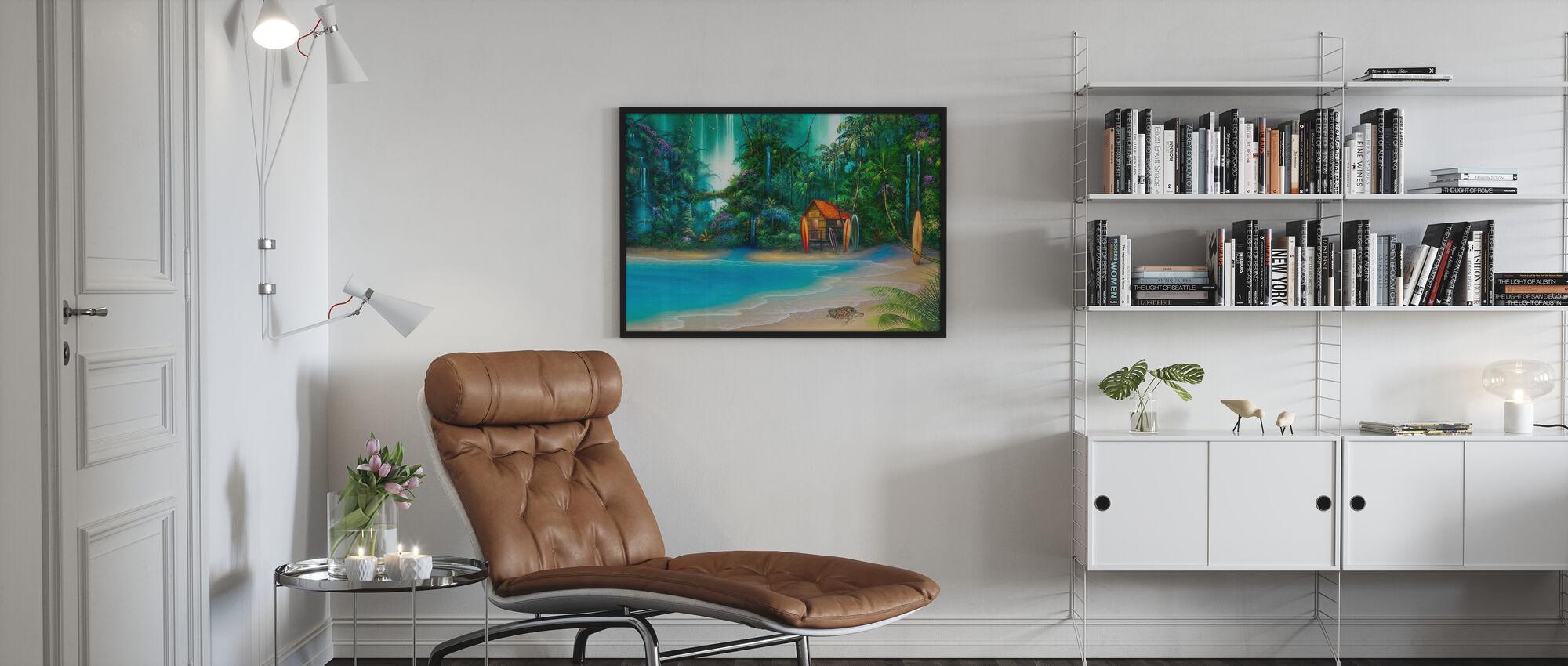 Surfhütte - Poster - Wohnzimmer