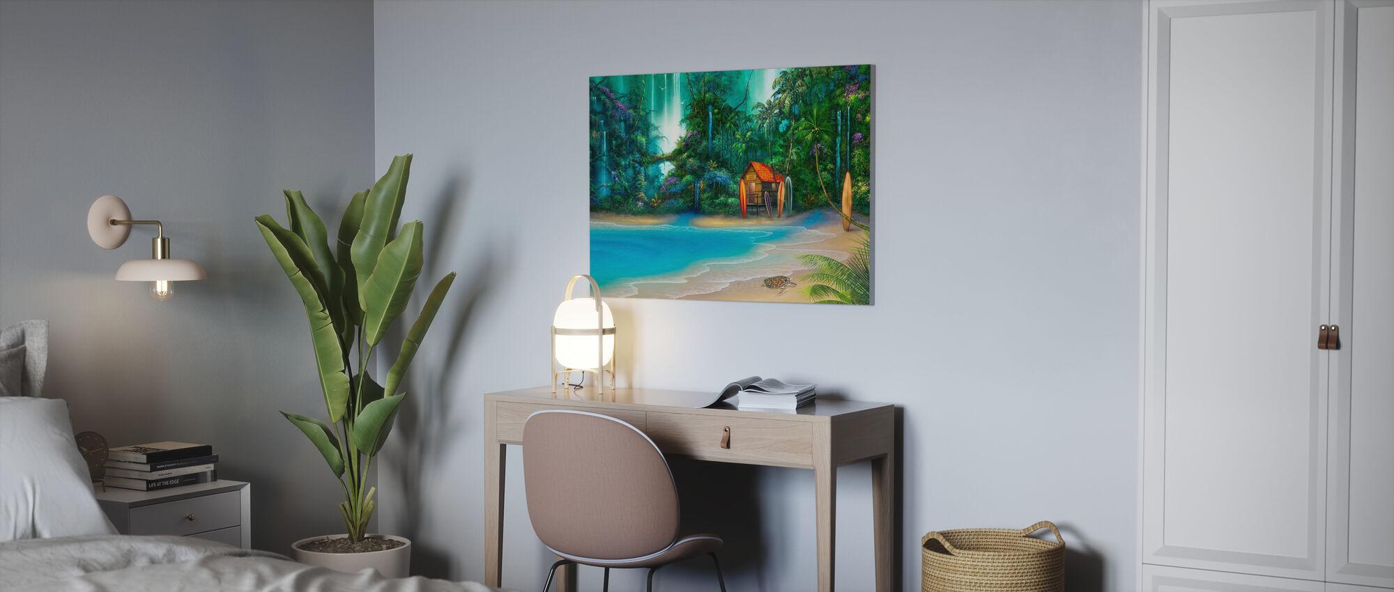 Surf Shack - Canvas print - Office
