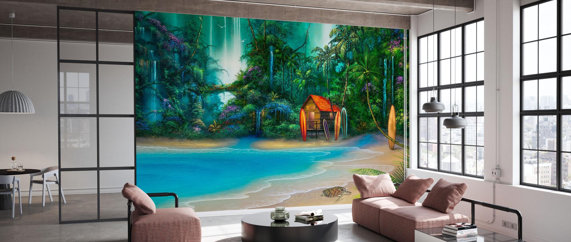 Surf Shack - Wallpaper - Office
