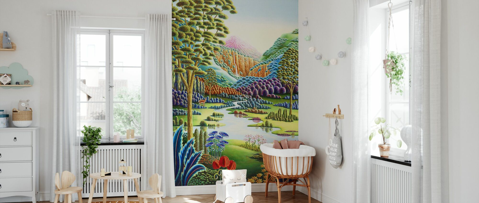 Eden - Wallpaper - Nursery