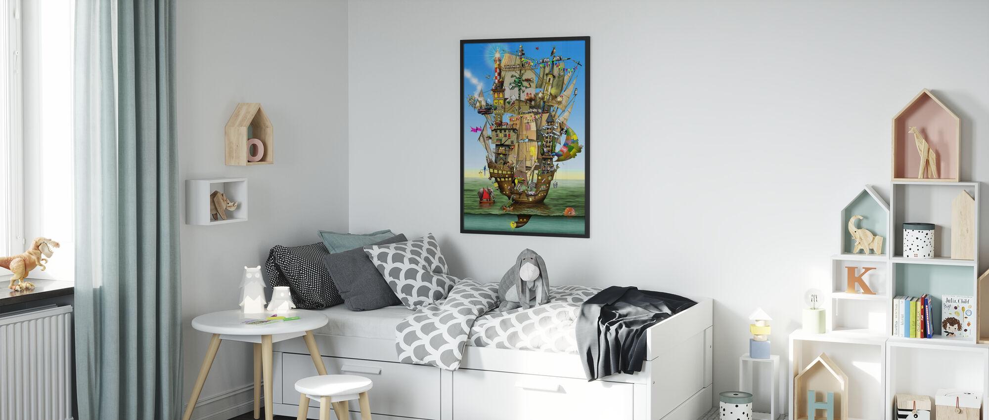 Norahs ark - Poster - Barnrum