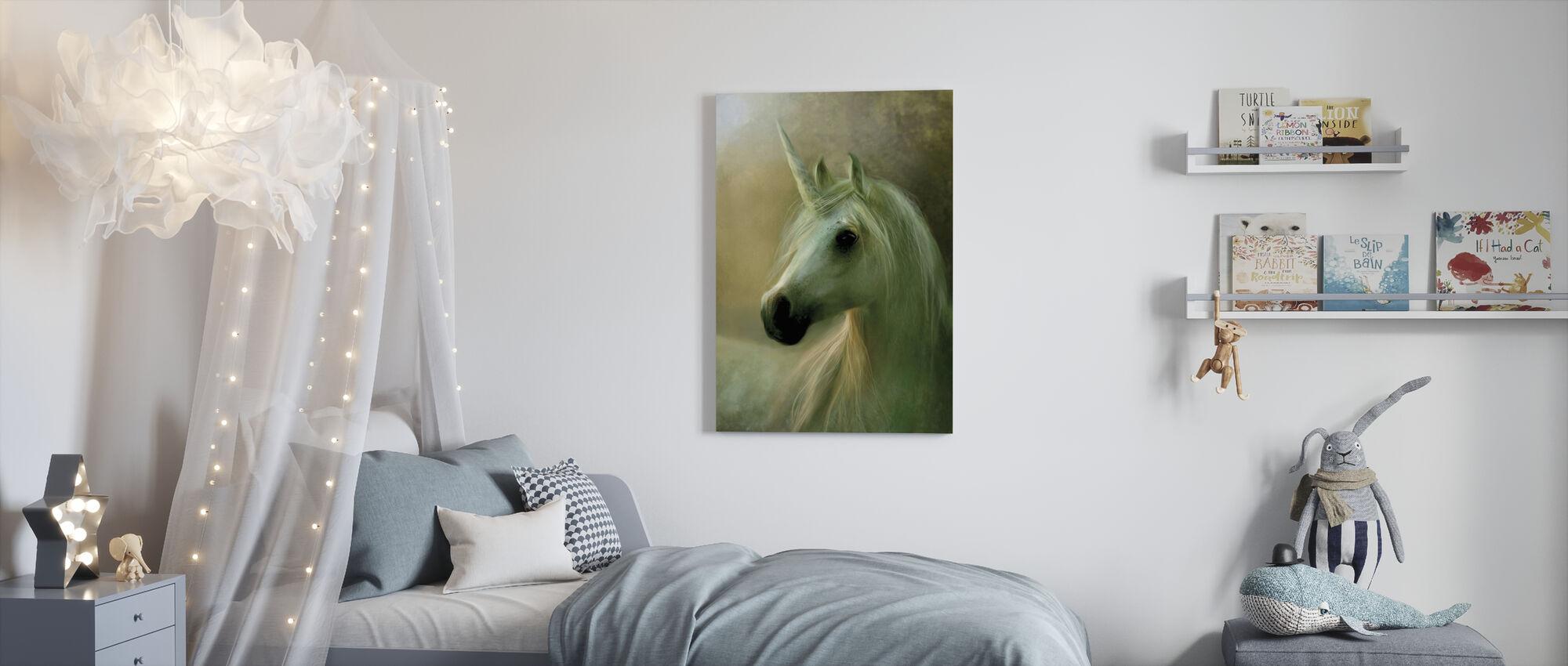 Elegance - Canvas print - Kids Room