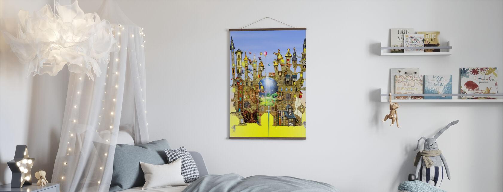 Slott i luften - Poster - Barnrum