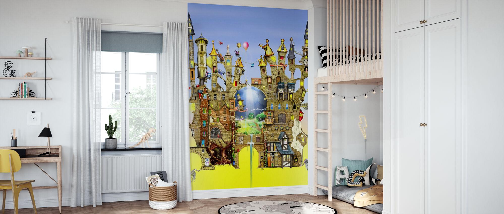 Castles in the Air - Wallpaper - Kids Room