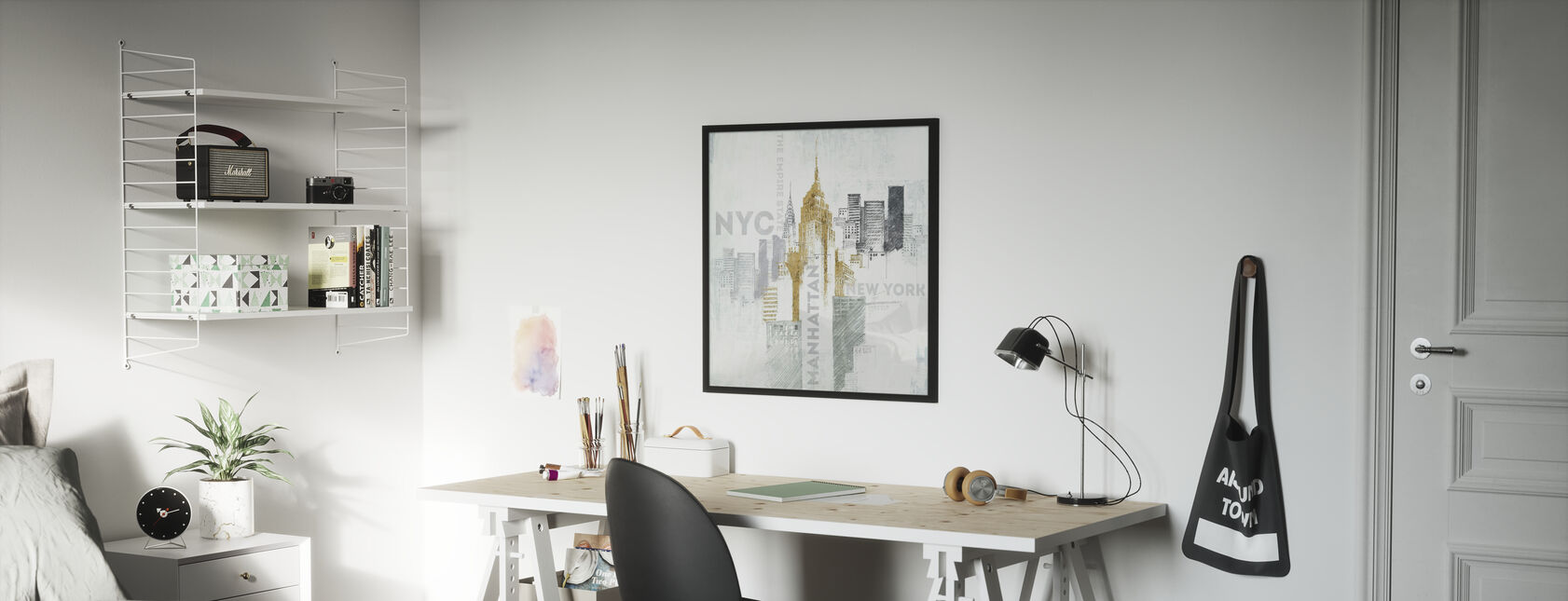 Empire State Building - Poster - Kids Room