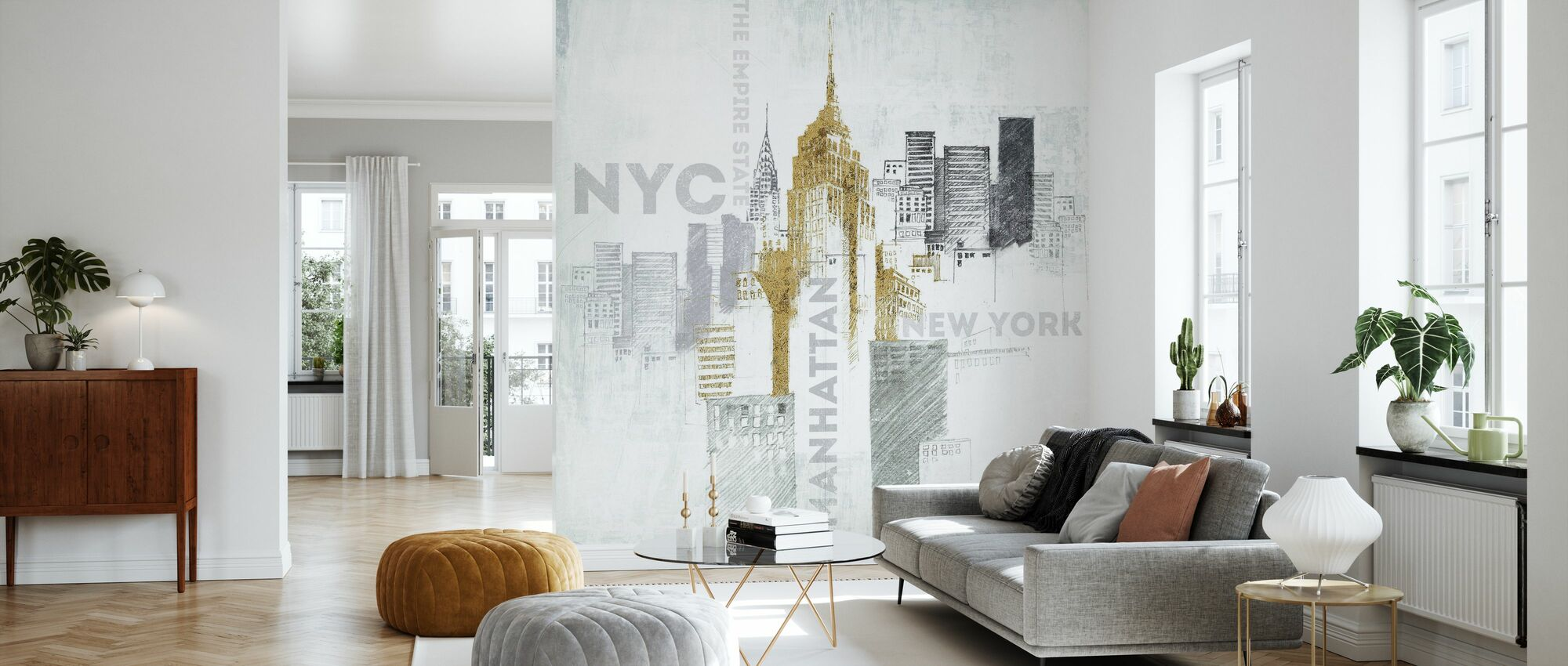 Empire State Building - Wallpaper - Living Room