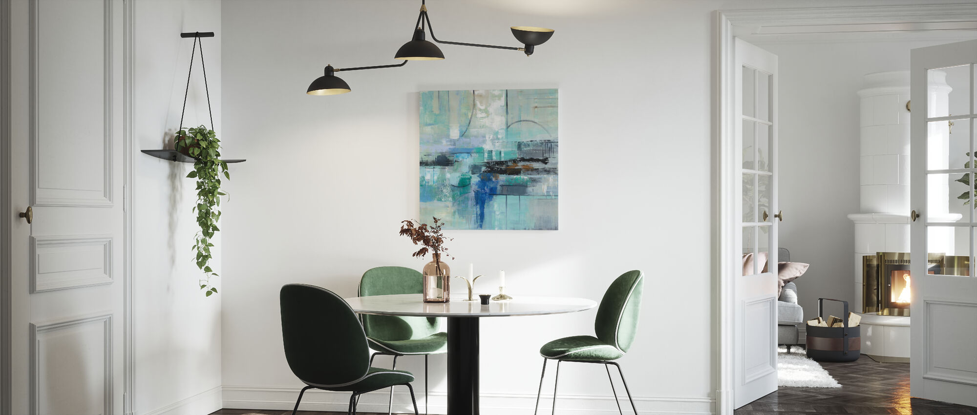 Cool Water - Canvas print - Kitchen