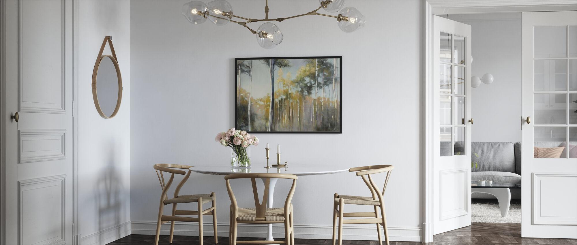 Aspen Reverie - Framed print - Kitchen