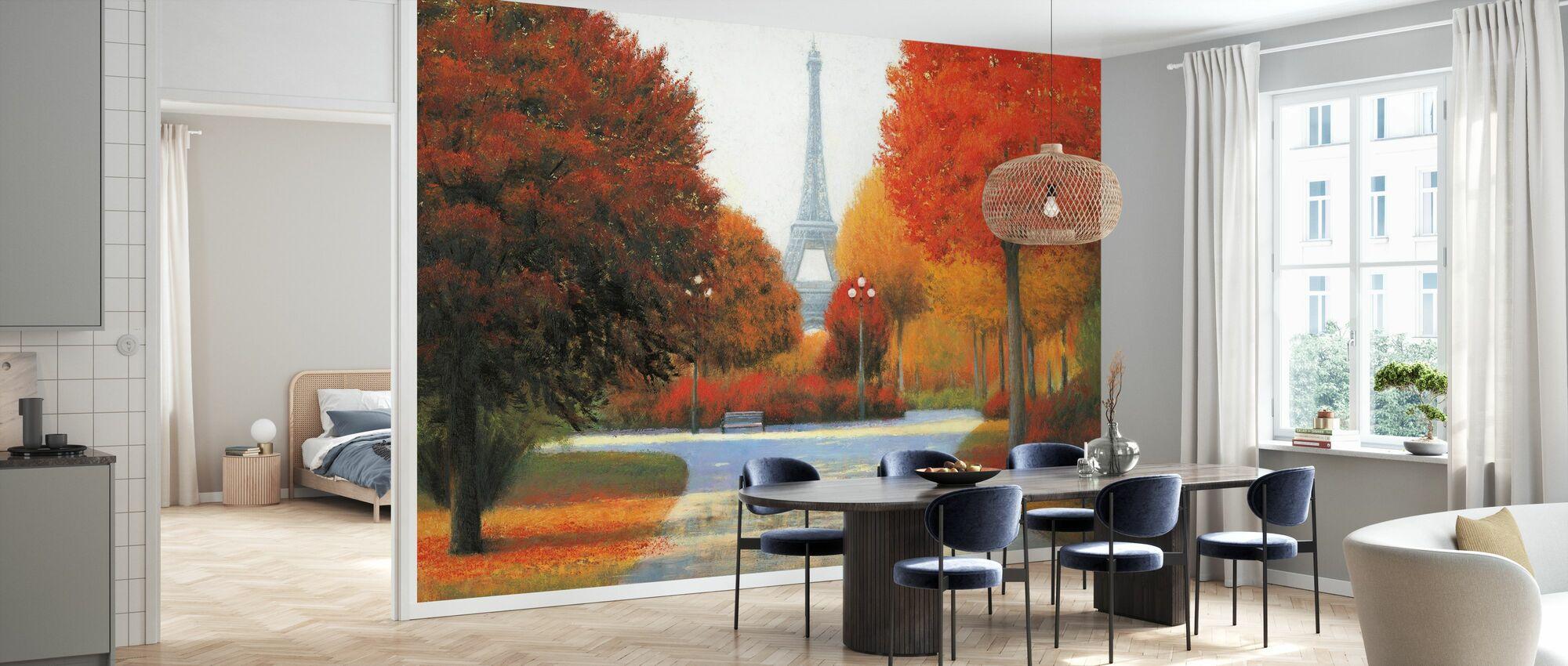 Autumn in Paris - Wallpaper - Kitchen