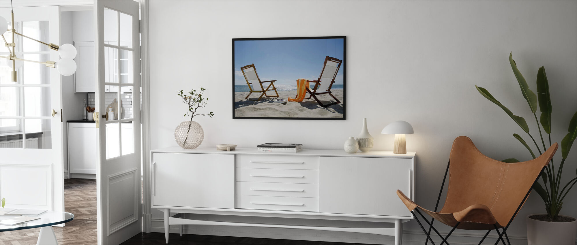 Sun Chairs - Poster - Living Room