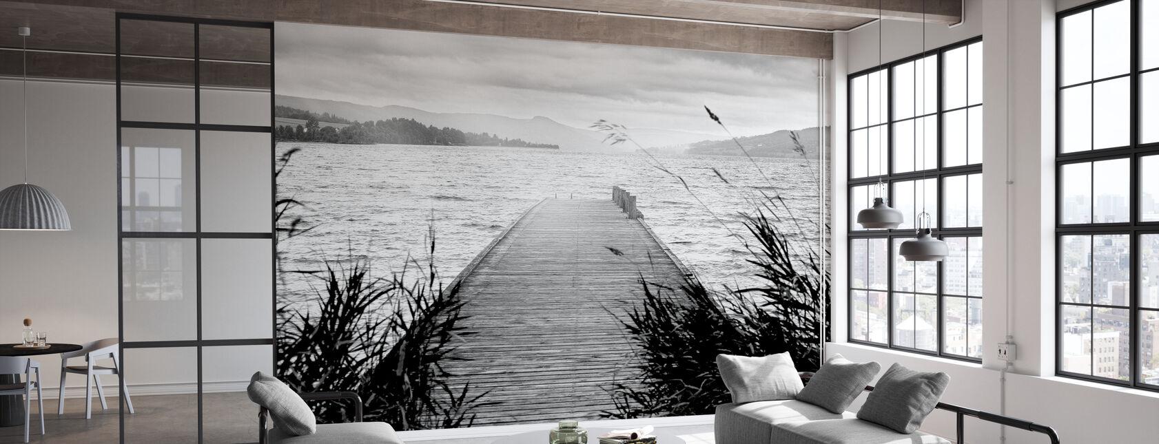 Pier on Hadeland - Wallpaper - Office
