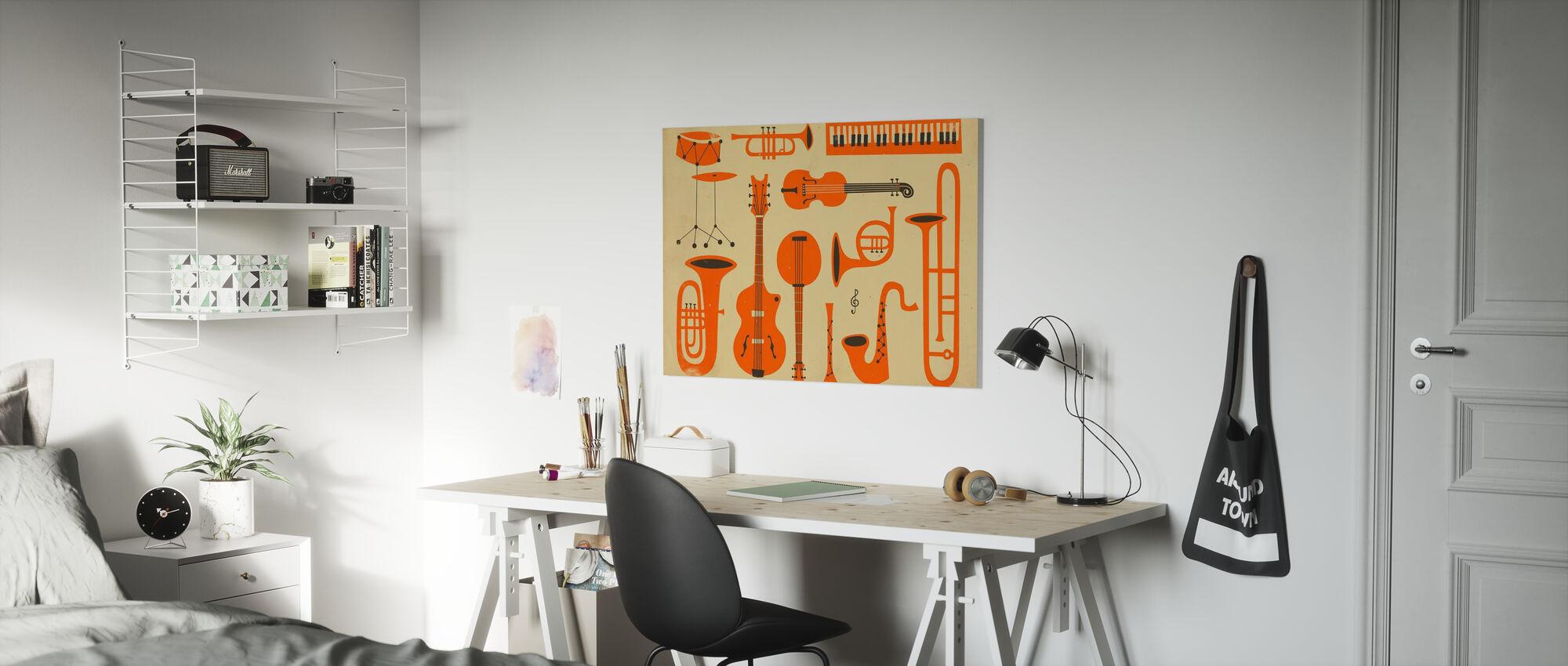 All That Jazz - Canvas print - Kids Room