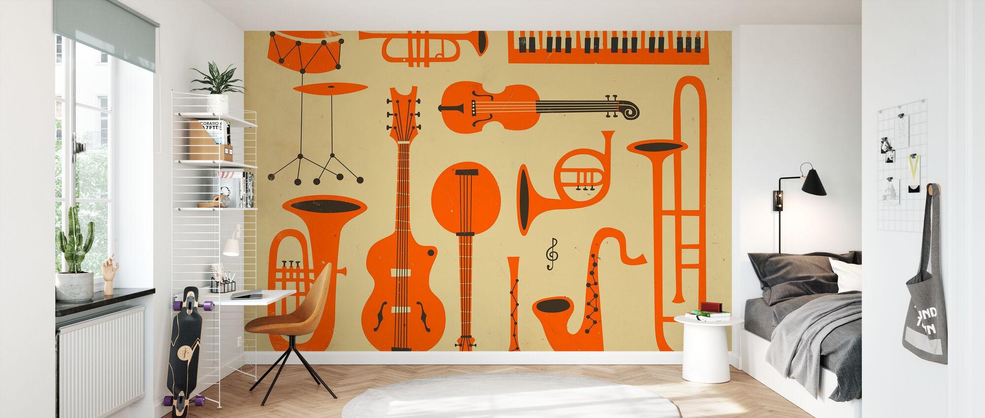 Alt det jazz, - Tapet - Børneværelse