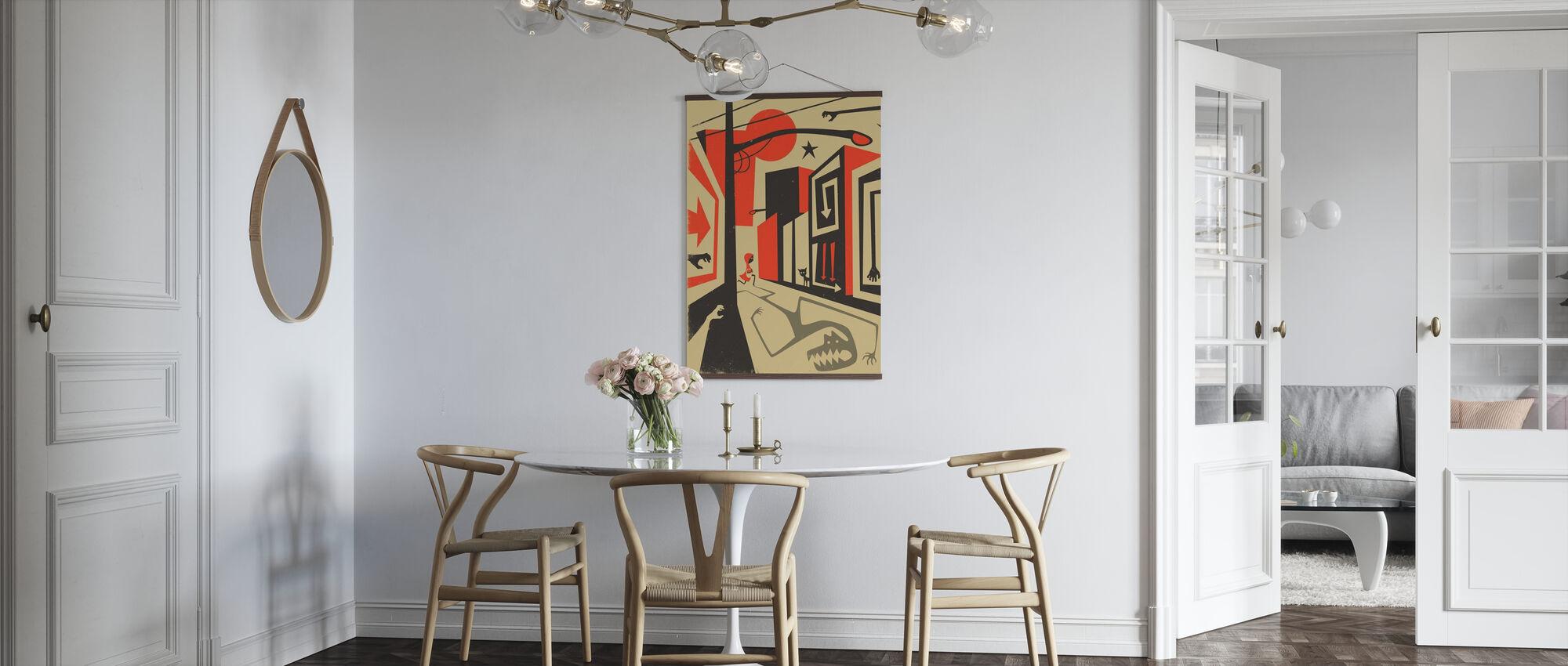 Roodkapje - Poster - Keuken