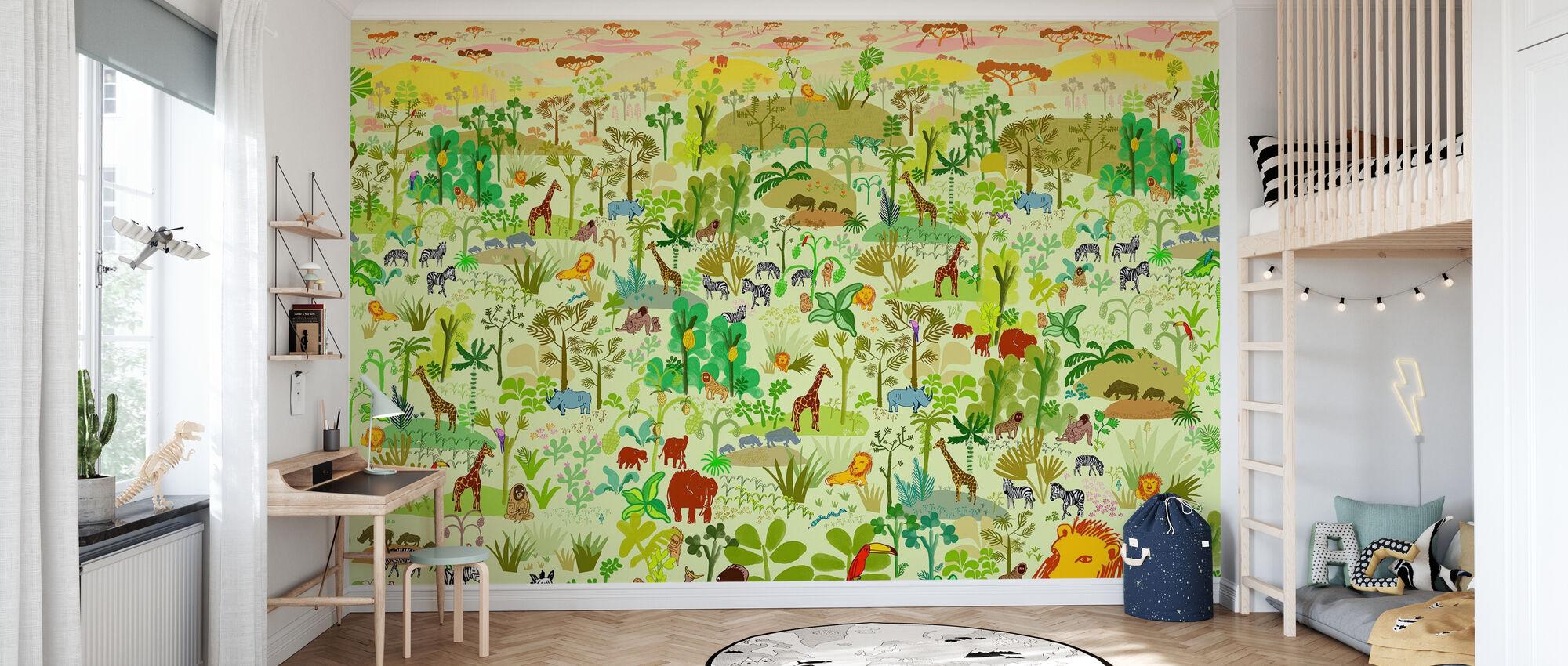 Serengeti - Wallpaper - Kids Room