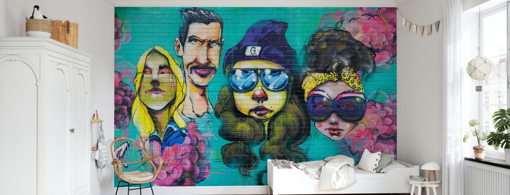 Gouge - Wallpaper - Kids Room