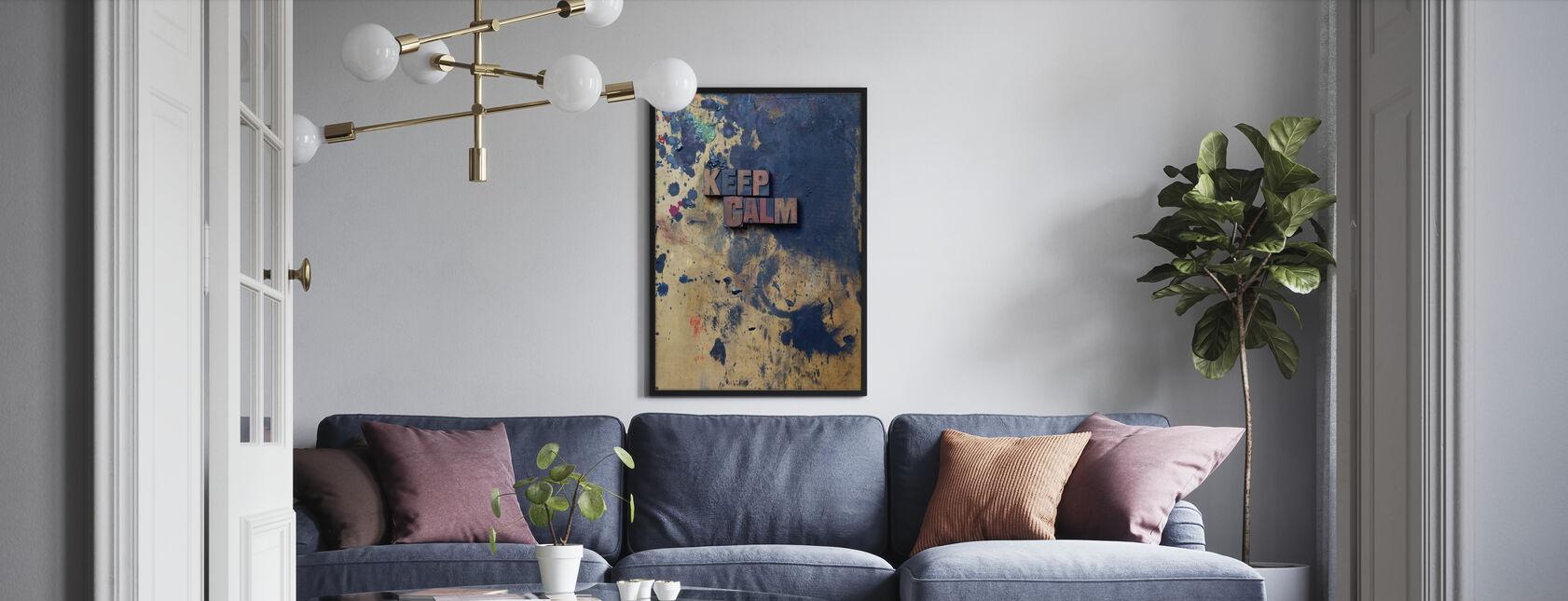 Keep Calm - Framed print - Living Room